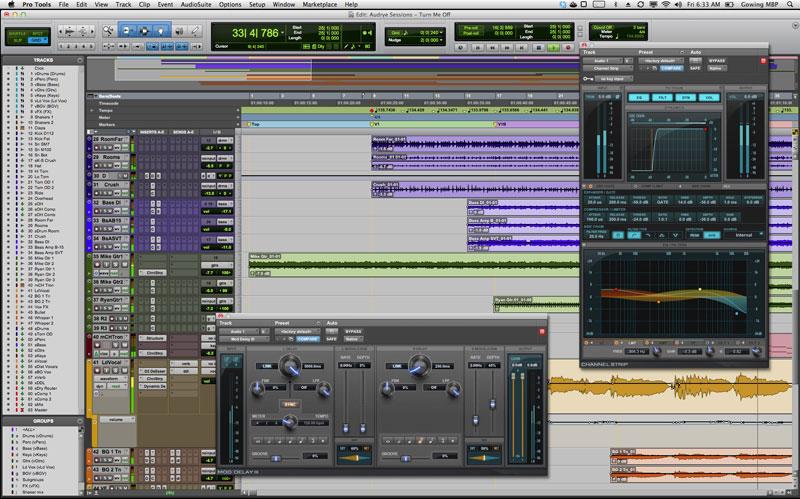 Создание, написание электронной музыки на компьютере.